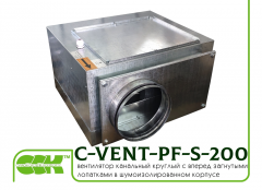 C-VENT-PF-S-200-4-220 channel fan in a...