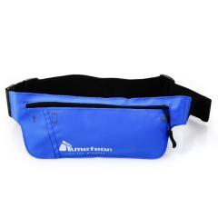 Спортивная сумка на пояс METEOR (original) для бега синяя