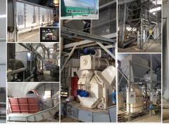 Линии по производству пеллет (биотопливо)