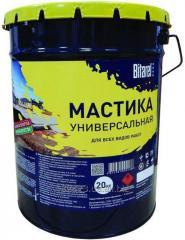 Mastic bituminous and polymeric cold Bitarel of