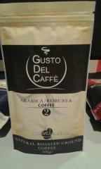 Coffee granular ground medium roas