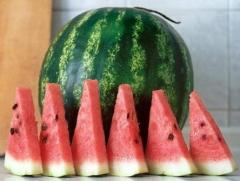 Water-melons on an ex-mouth