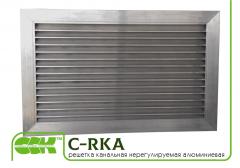 Решетка канальная нерегулируемая алюминиевая C-RKA-90-50