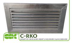 Lattice channel unregulated C-RKO-50-25