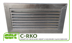 Lattice channel unregulated C-RKO-50-30