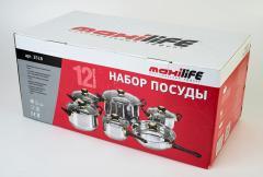 Набор посуды (12 предметов) ТМ MAXILIFE