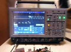 Professional oscillograph of the deep analysis of