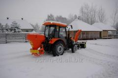 Tractor hinged spreader of Pronar PS 250M sand