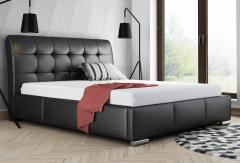 Bed with the lifting AMBRE mechanism, stylish,