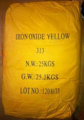 Пигмент желтый 313 железоокисный Китай