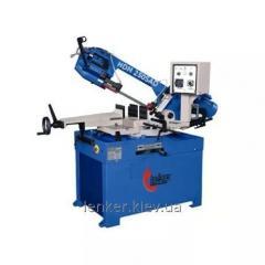 The manual lentochnopilny machine on HDM 250 SAD metal