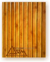 Профнастил стеновой ПС-8 Строй-Дом (0,35 мм., Индия, Дерево)