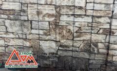 Профнастил стеновой ПС-10 Строй-Дом (0,40 мм., Индия, Камень)