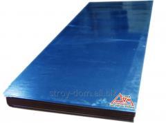 Гладкий лист из стали с полимерным покрытием (0,45 мм., Украина, PE-с учетом пленки)