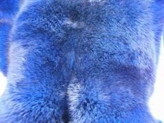 Кролик крашеный Голубой