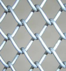 Grid the chain-link in assortment from the