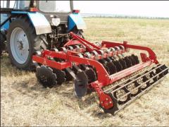 Hoeing plough
