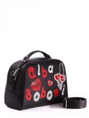 Молодежная сумка 171321 черный