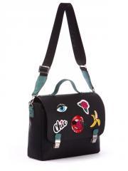 Молодежная сумка-портфель 171333 черный