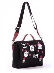Молодежная сумка-портфель 171334 черный