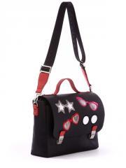 Молодежная сумка-портфель 171335 черный