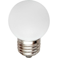 Лед лампа светодиодная белый шар G45 1,2W Е27
