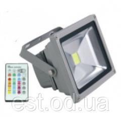 Прожектор светодиодный RGB LED 50w LEMANSO