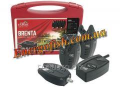 Набор сигнализаторов безпроводних Carp Expert Brenta (3+1) 200м