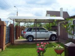 Canopies, autocanopies from polycarbonate