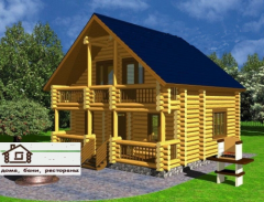 Домівки дерев'яні (зруби)