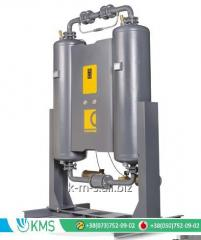 Dehumidifiers of compressed air of the adsorptive