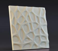 "Casting mold of 3D panels ""Web"
