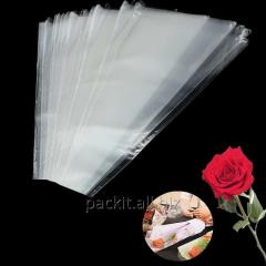 Conical cellophane packages, paper bags, for