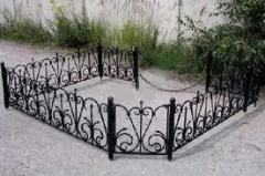 Ограды гранитные