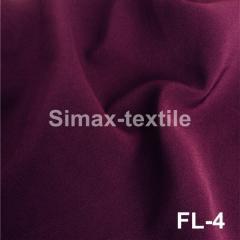 Костюмная ткань Барби, креп костюмка, Код: FL-4 Пурпурный