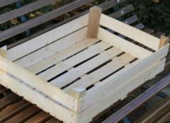 Ящики деревянные для упаковки овощей, фруктов, ящики тарные