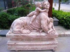 Sculptures from granite