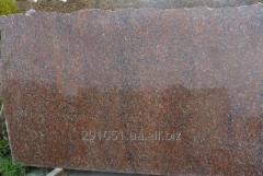 Slabs (sleb) from granite