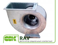 RAV вентилятор радиальный компактный с назад загнутыми лопатками