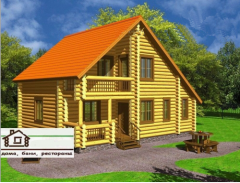 Houses skeleton wooden