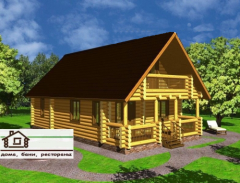 Установка деревянных домов