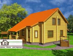 Частные дома деревянные