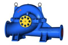 Pumps horizontal D; 1D; HELL