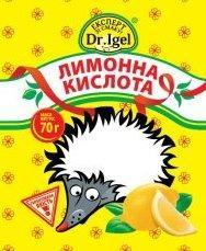 Lemon acid of food 100 g
