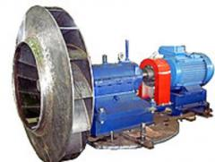 Вентилятор центробежный горячего дутья одностороннего всасывания ВГДН-19