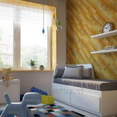 Wall panels Yellow Flicker