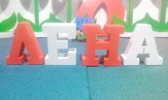 Буквы объемные пример №20