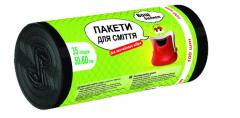 Σακούλες σκουπιδιών TM Προϋπολογισμός 100pcs 35L