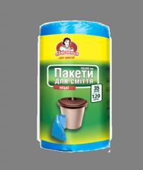 Пакеты для мусора TM Помощница 35л. 100+20шт.
