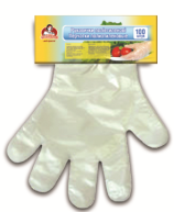 Перчатки полиэтиленовые TM Помощница 100 шт.